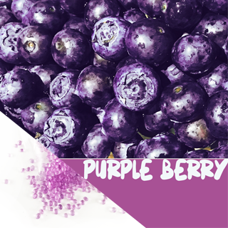 Deo Perlen Purple Berry©